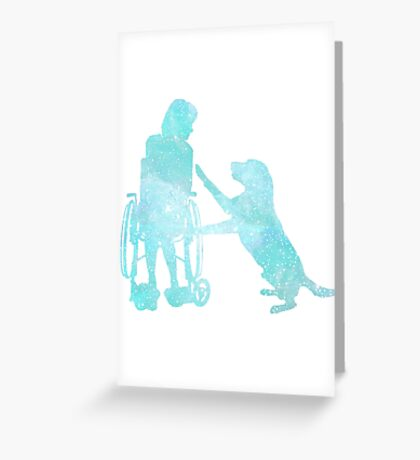 Assistance Dog Greeting Card
