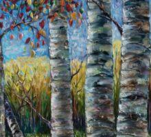 Rocky Mountain High (Palette Knife) by Lena Owens/OLena Art Sticker