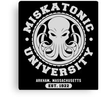 Miskatonic University Canvas Print