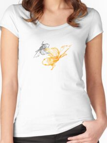 Tranquil Goldfish Women's Fitted Scoop T-Shirt