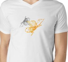 Tranquil Goldfish Mens V-Neck T-Shirt