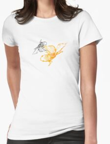 Tranquil Goldfish Womens Fitted T-Shirt