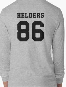 Helders 86 black Long Sleeve T-Shirt