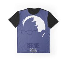 Bernie Sanders 2016 Blue Graphic T-Shirt