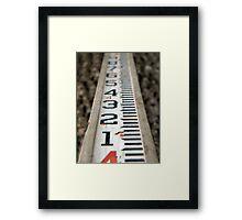 Do You Measure Up? Framed Print