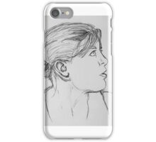 Profile Portrait iPhone Case/Skin