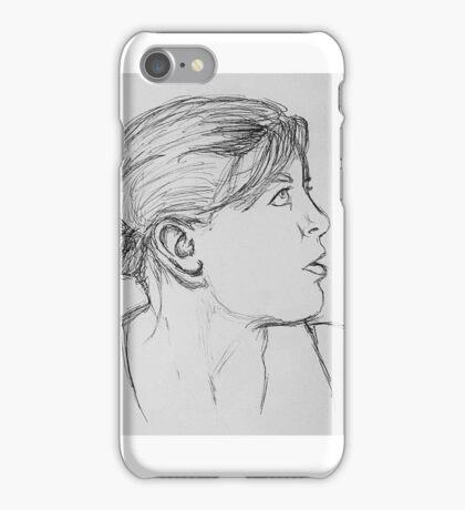 Profile Portrait iPhone Case/Skin
