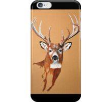 White-tailed Deer Buck by Dennis Dalton iPhone Case/Skin