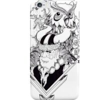 Viking (ink illustration) iPhone Case/Skin