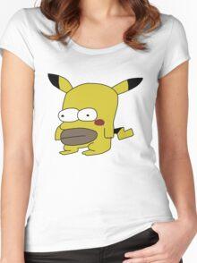 Homerchu Women's Fitted Scoop T-Shirt