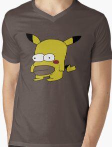 Homerchu Mens V-Neck T-Shirt