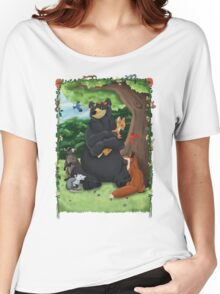 Mother Forest - Woodland Animals Women's Relaxed Fit T-Shirt