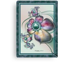Floral Whimsy Canvas Print
