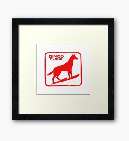 Dingo Flour  Framed Print