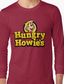 Hungry Howies Pizza Papa Johns El jefe Long Sleeve T-Shirt