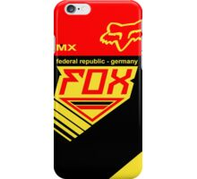 Mxon Germany iPhone Case/Skin