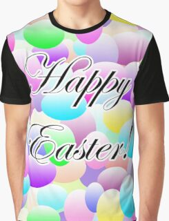 Happy Easter Light Graphic T-Shirt