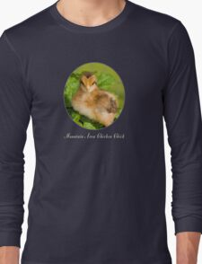 Mountain Area Chicken Chick Long Sleeve T-Shirt