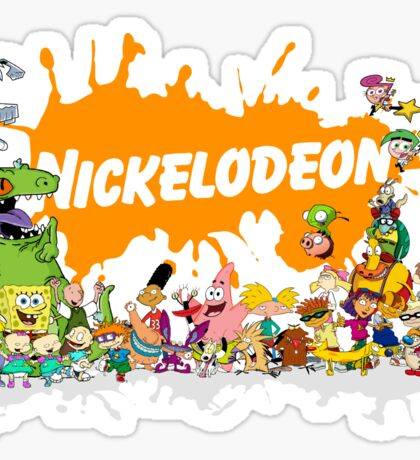 Ultimate Nickelodeon Nicktoons  Sticker