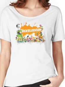 Ultimate Nickelodeon Nicktoons  Women's Relaxed Fit T-Shirt