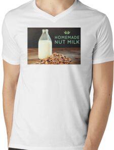 Homemade Nut Milk Mens V-Neck T-Shirt