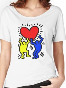 keith haring Women's Relaxed Fit T-Shirt