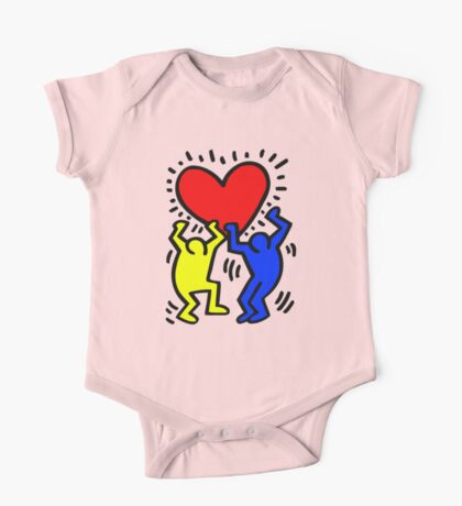 keith haring One Piece - Short Sleeve