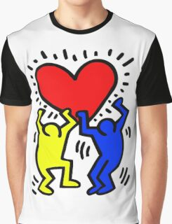 keith haring Graphic T-Shirt