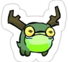 Castle Crasher Pet Frogglet Sticker