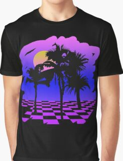 Eighties Technicolor Dreams Graphic T-Shirt