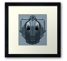 Doctor Who Cyberman Framed Print