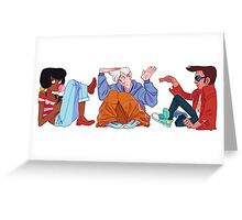 Cool Kids Boxes Greeting Card