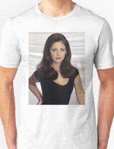 Sarah Michelle Unisex T-Shirt