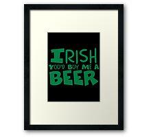 IRISH Framed Print