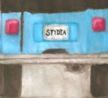 Stydia Jeep Teen Wolf Stiles and Lydia Sticker