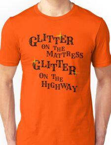 Black Glitter Unisex T-Shirt