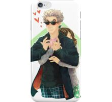 Doctor Who - Clara Charged iPhone Case/Skin