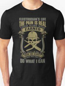 Electrician T-shirts Unisex T-Shirt