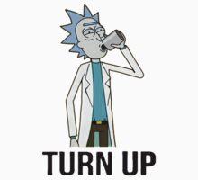 Turn up Rick Kids Tee
