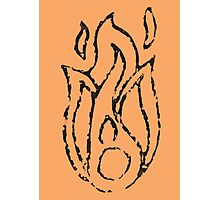 Ember Badge (Stamp) Photographic Print