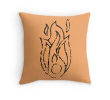 Ember Badge (Stamp) Throw Pillow