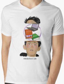 Medschool life Mens V-Neck T-Shirt
