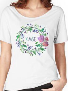 Lakeside New: Wild Women's Relaxed Fit T-Shirt