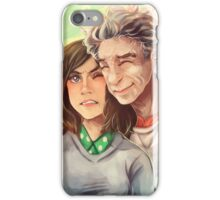 Doctor Who - whouffaldi switch iPhone Case/Skin