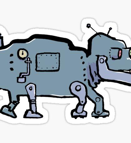 robot dog Sticker