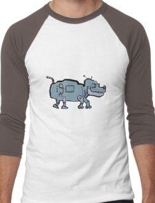 robot dog Men's Baseball ¾ T-Shirt