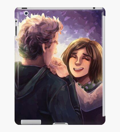 Doctor Who - Whouffaldi Happy iPad Case/Skin