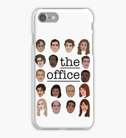 The Office Crew iPhone Case/Skin
