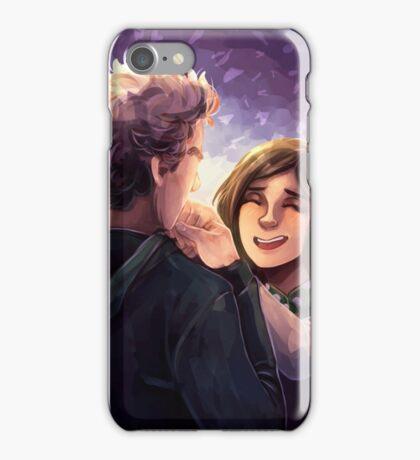 Doctor Who - Whouffaldi Happy iPhone Case/Skin