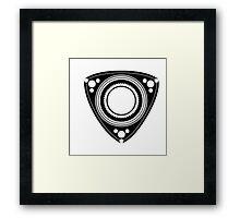 Rotary Framed Print